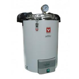 SK101C Autoclave / Esterilizador, portátil, digital, 18 litros, temp max 126°C Yamato