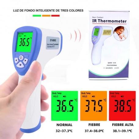 Termometro Infrarrojo Digital Corporal Sin Contacto Frente ¿por qué debo usar un pirómetro. equipo para laboratorio